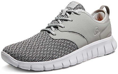 TF-X574-LGR_Men 13 D(M) Tesla Men's Knit Pattern Sports Running Shoes X574 ( True to Size )
