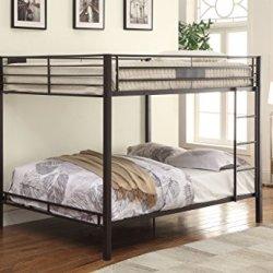 ACME Kaleb Queen/Queen Bunk Bed – 38015 – Sandy Black