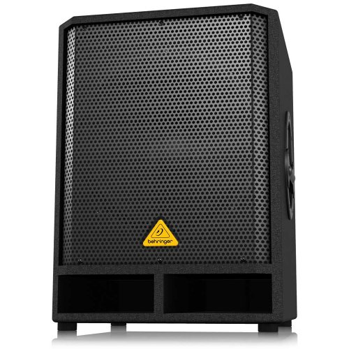 BEHRINGER Professional Active 500-Watt 15' Pa Subwoofer with Built-in Stereo Crossover, Black (VQ1500D)