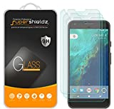 Supershieldz [3-Pack] for Google (Pixel XL) Tempered Glass Screen Protector, Anti-Scratch, Anti-Fingerprint, Lifetime Replacement [Not Fit for Pixel 3 XL]