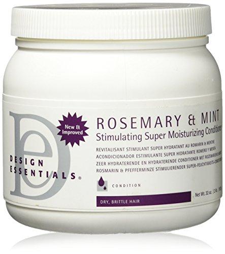 Design Essentials Rosemary & Mint Stimulating Super Moisturizing Conditioner, 32 oz