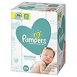 Gentle cleaning for your baby's sensitive skin Changing your baby can be one of the most loving moments of the day. The #1 choice of hospitals* and the #1 sensitive wipe,** Pampers Sensitive baby wipes are clinically proven mild, dermatologist-tested...