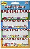 Eureka  Dr. Seuss - If I Ran the Circus Stickers - Label