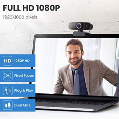 Webcam-1080P-with-Microphone-HD-Web-Cam-Vitade-826M-USB-Computer-Web-Camera-Video-Cam-for-Streaming-Gaming-Conferencing-Mac-Windows-PC-Laptop-Desktop-Skype-OBS-Twitch-YouTube-Xsplit