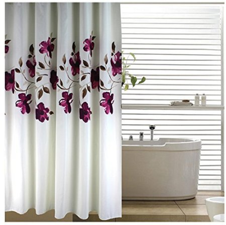 Eforgift Decorative Polyester Shower Curtain