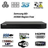 Samsung BD-JM59 Upgraded Wi-Fi Multi Region Zone Blu Ray DVD Player - PAL/NTSC