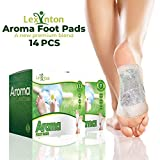 Foot Pads by Lexinton | All Natural & Premium Ingredients Patches Set Bamboo Vinegar Based, Weight Loss, Full Body Cleanse, Pain Relief, Organic Herbal Japanese Plant Based Foot Pack