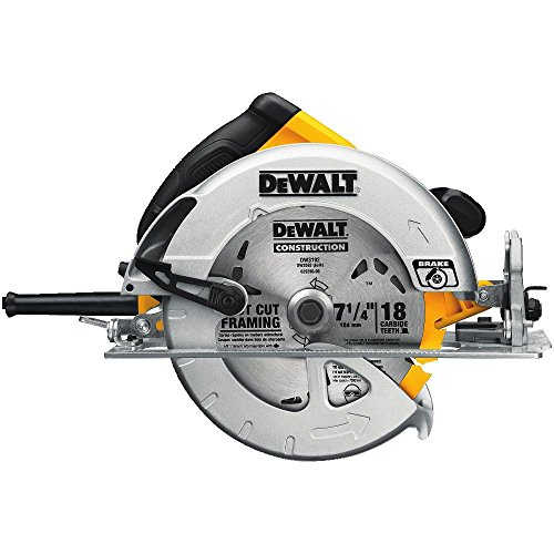 The best circular saw for 2018 complete buying guide reviews dewalt dwe575sb 7 14 inch lightweight circular saw with electric brake greentooth