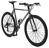 Retrospec Bicycles Mantra-7 Urban Commuter Bicycle, Graphite/Black, 61cm/X-Large