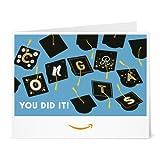 Amazon Gift Card - Print - Graduation Caps