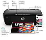 HP AMP 100 Inkjet All-in-One Printer with Integrated Smart AMP Bluetooth Speaker & HP Mobile Printing - in Black (Renewed)