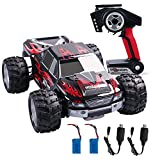 Wltoys 1:18 RC Car 4WD High Speed Off Road Remote Control Car 50km/h 2.4Ghz Radio Controlled Monster Truck Buggy Racing Toy Electric Vehicle Rock Crawler for Kids and Adults