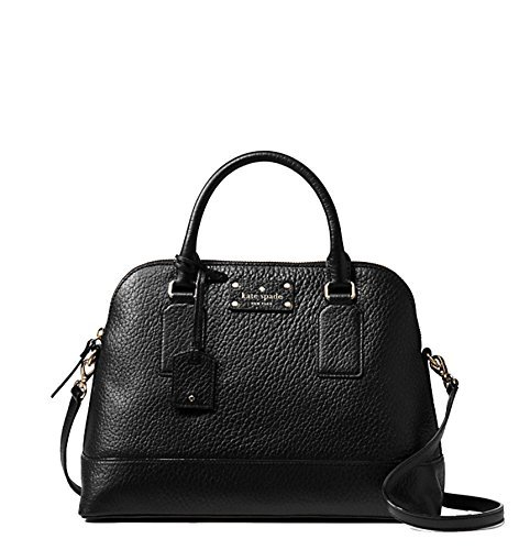 51n7lTn3otL leather with natural cowhide trim satchel with zip top closure and an adjustable, removable strap dual interior slide pockets and interior zipper pocket