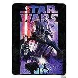 Disney's Star Wars, 'Darth Night' Micro Raschel Throw Blanket, 46' x 60', Multi Color