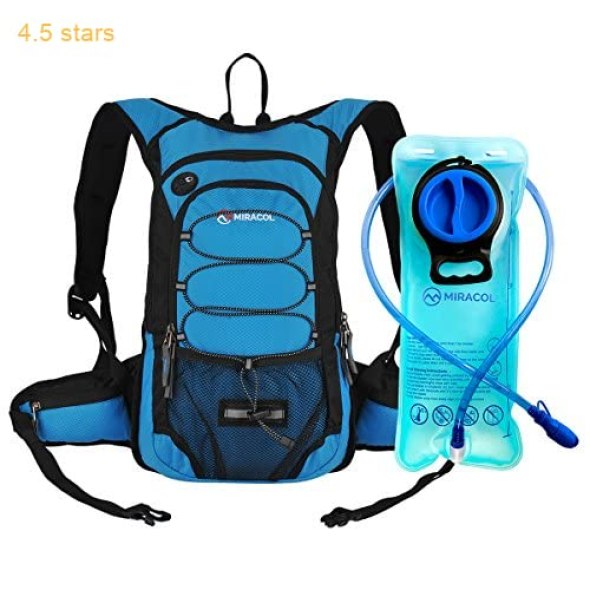 037a9bf0e965 Miracol Hydration Backpack with 2L Water Bladder – Thermal Insulation Pack  Keeps Liquid Cool up to 4 Hours – Multiple Storage Compartment– Best  Outdoor Gear ...