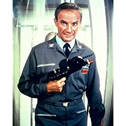 Lost in Space Featuring Jonathan Harris 8x10 Promotional Photograph with gun season 1