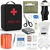 SHBC Emergency Survival Trauma Kit with Tourniquet 36' Splint, CAT tourniquet, Israeli Bandage for First Aid Response, Gun Shots, Blow Out, Severe Bleeding Control and More Emergency medical supplies.