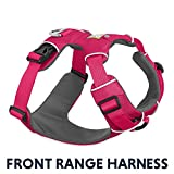 RUFFWEAR 30501-645M Front Range, Everyday No Pull Dog Harness with Front Clip, Trail Running, Walking, Hiking, All-Day Wear, Wild Berry, Medium