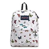 JanSport Superbreak Backpack - Butterflies - Classic, Ultralight