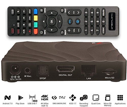 Dreamlink T2 IPTV Set Top Box e Smart TV Android 7 OS
