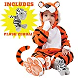Spooktacular Creations Deluxe Baby Tiger Costume Set (3T)