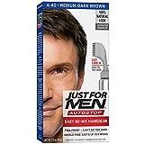 Just For Men AutoStop Men's Comb-In Hair Color, Medium-Dark Brown