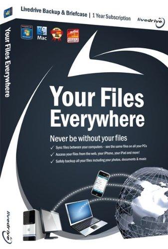 Livedrive Cloud Backup - Unlimited Online Storage