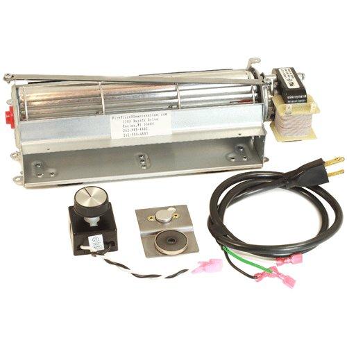 GFK4 Fireplace blower kit for Heatilator, Majestic, CFM, Vermont Castings, Monessen; Rotom #HBRB74K