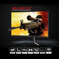 GameBooster GB-2461CF Gaming Monitör, 24 inç, LED, Siyah 18