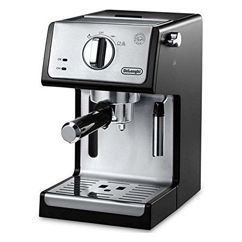 De 'Longhi ecp342038.1cm Bar Bomba Máquina espresso y Cappuccino, color negro