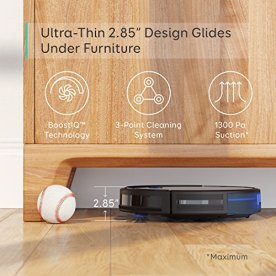 eufy-by-Anker-BoostIQ-RoboVac-11S-Slim-Robot-Vacuum-Cleaner-Super-Thin-1300Pa-Strong-Suction-Quiet-Self-Charging-Robotic-Vacuum-Cleaner-Cleans-Hard-Floors-to-Medium-Pile-Carpets