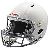 Riddell Victor Youth Helmet, White/Gray, Large