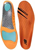 New Balance Insoles 3810 Ultra Support Insole Shoe, orange, Medium/M 9-9.5, W 10.5-11 D US