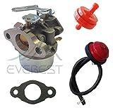 Everest New Carburetor Replaces Toro OEM 38054 38056 38056C Primer Bulb & Filter
