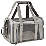 Henkelion Pet Dog Cat Carrier Airline Approved Pet Carriers Collapsible Dog Travel Crate for Small and Medium Dogs