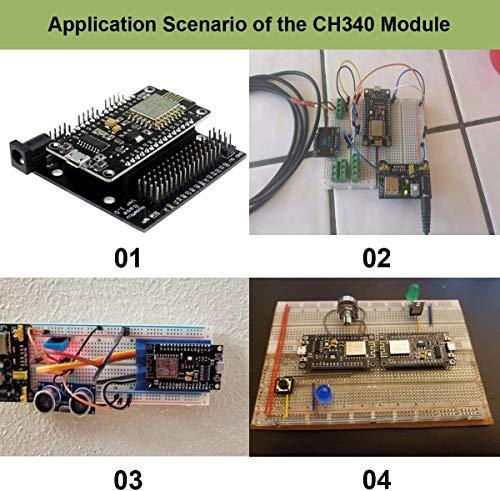MakerFocus-2pcs-ESP8266-NodeMCU-LUA-CH340-ESP-12E-Internet-WiFi-Development-Board-4M-Flash-Serial-Wireless-Module-Internet-for-Ar-duino