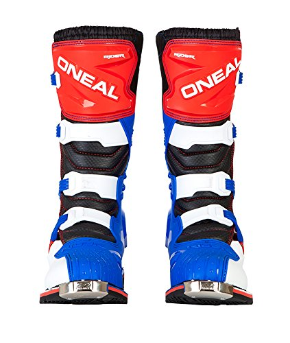 O'Neal Rider Boots (10) (Blue/Red/White,10)