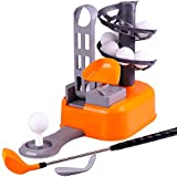 iPlay, iLearn Golf Toys Set, Golf Ball Game, Sports Gaming Clubs, Learning, Active, Early Educational, Outdoors Exercise Toy for 3, 4, 5, 6, 7 Year Olds Kids, Toddlers, Boys, Girls (Color May Vary)