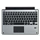 Tomsenn Surface Pro 4/Pro 3 Aluminum keyboard Cover(Gray)