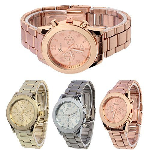 51nYKrEDwJL Display:Analog. Band Material:Stainless Steel.Movement: Quartz. Case Diameter: 3.6cm.Case Thinkness:0.7cm.Band Width: 1.8cm Fashionable design draws much attention.This is a good present for your relatives and friends.