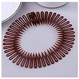 Pinksee 3pcs Stretch Flexible Hair Combs Headband Tooth Headband For Women