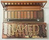 Naked Heat Eyeshadow Palette - Waterproof Eye Shadow Palette