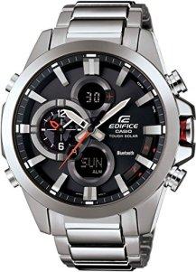 Casio Men's Edifice Tough Solar Stainless Steel Watch