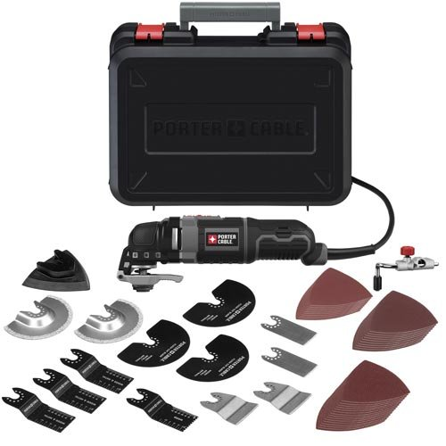 PORTER-CABLE PCE605K52 3-Amp Oscillating Multi-Tool Kit