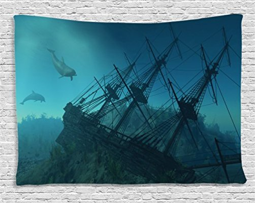 Top 10 Best Underwater Tapestry Top Reviews No Place