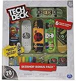 Tech Deck Alien Workshop Skateboards Sk8shop Bonus Pack with 6 Fingerboards - 20th Anniversary