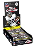 2008 Topps Chrome Football Card - Factory Sealed HOBBY Box - 1 Autograph (Possible Matt Ryan or Joe Flacco Rookie Cards) 12 Rookie Cards Per Box on Average!