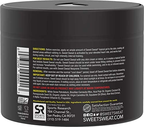 Sports Research Sweet Sweat Jar, 6.5 Ounce (1 Count) 5