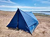 River Country Products Trekker Tent 2.2, Two Person Trekking Pole Backpacking Tent