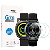 OOTSR Screen Protector for Samsung Galaxy Watch (42mm) / Gear S2, (3 Pack) Tempered Glass Screen Protector for Samsung Gear S2 Classic/Gear Sport with [2.5D Round Edge] [9H Hardness] [Anti-Scratch]